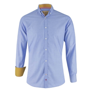 Herren Hemd blau