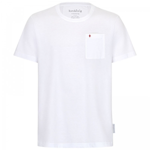weißes Herren-T-Shirt