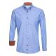Herren Hemd blau, slim fit
